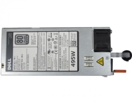 DELL Single 495W Hot-Plug Power Supply (1+0) (450-AEBM)