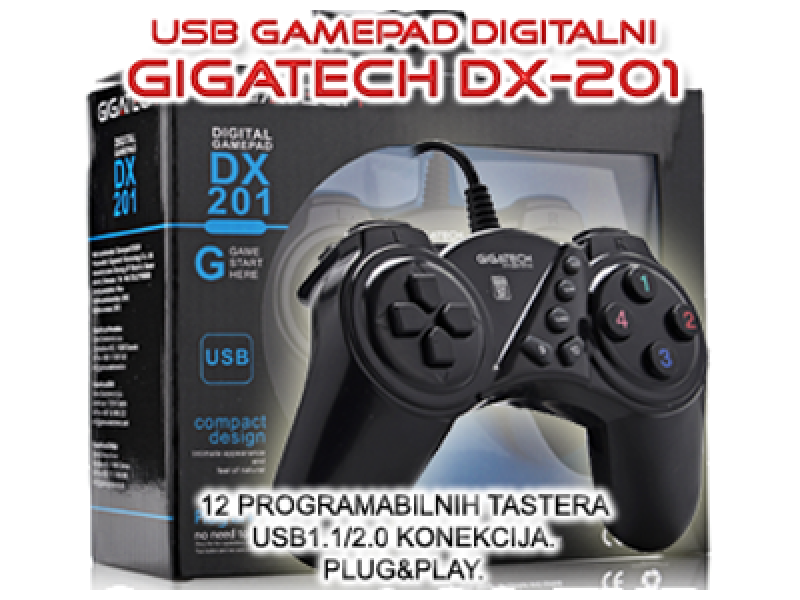 GAMEPAD GIGATECH DX-201