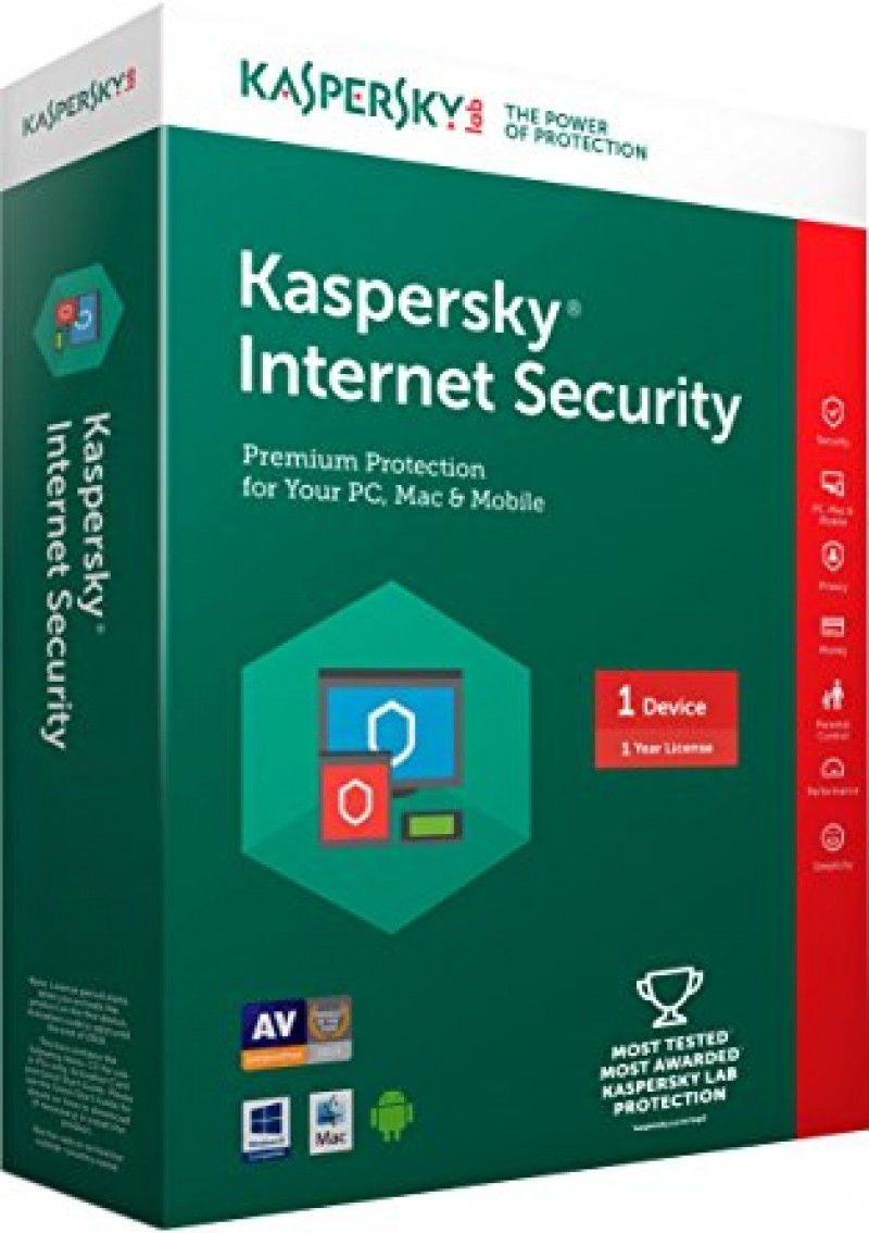 Paket 3 licence za Kaspersky Internet Security Multi Device