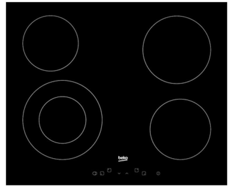 BEKO HIC 64402 X ugradna ploča