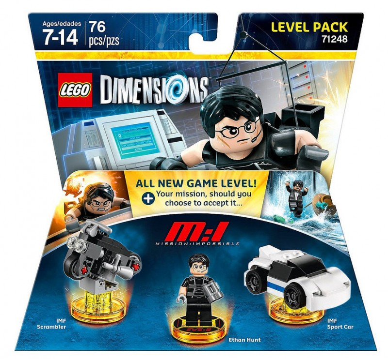 Warner Bros LEGO Dimensions Level Pack Mission Impossible