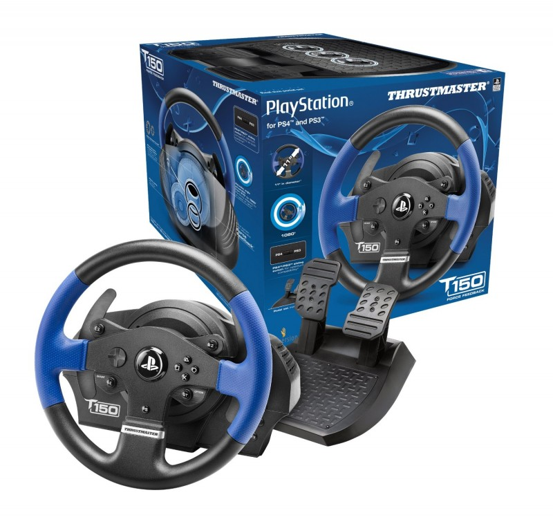 T150 RS Force Feedback Wheel PC/PS3/PS4