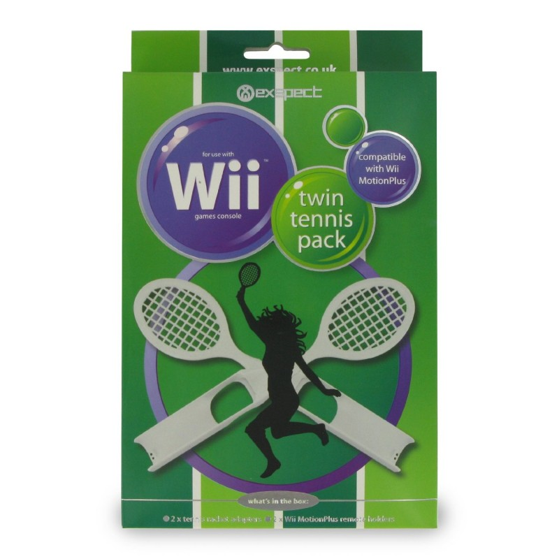Wii MotionPlus Twin Tennis Pack