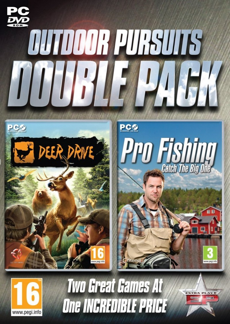PC Outdoor Pursuit Double Pack - Deer Drive & Pro Fishing