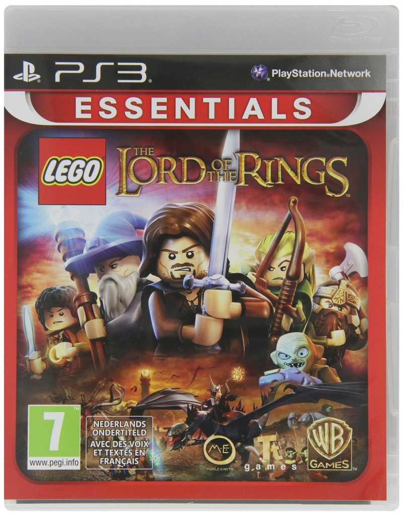 PS3 Lego Lord of the Rings Essentials