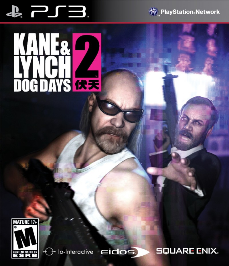 PS3 Kane & Lynch 2 Dog Days