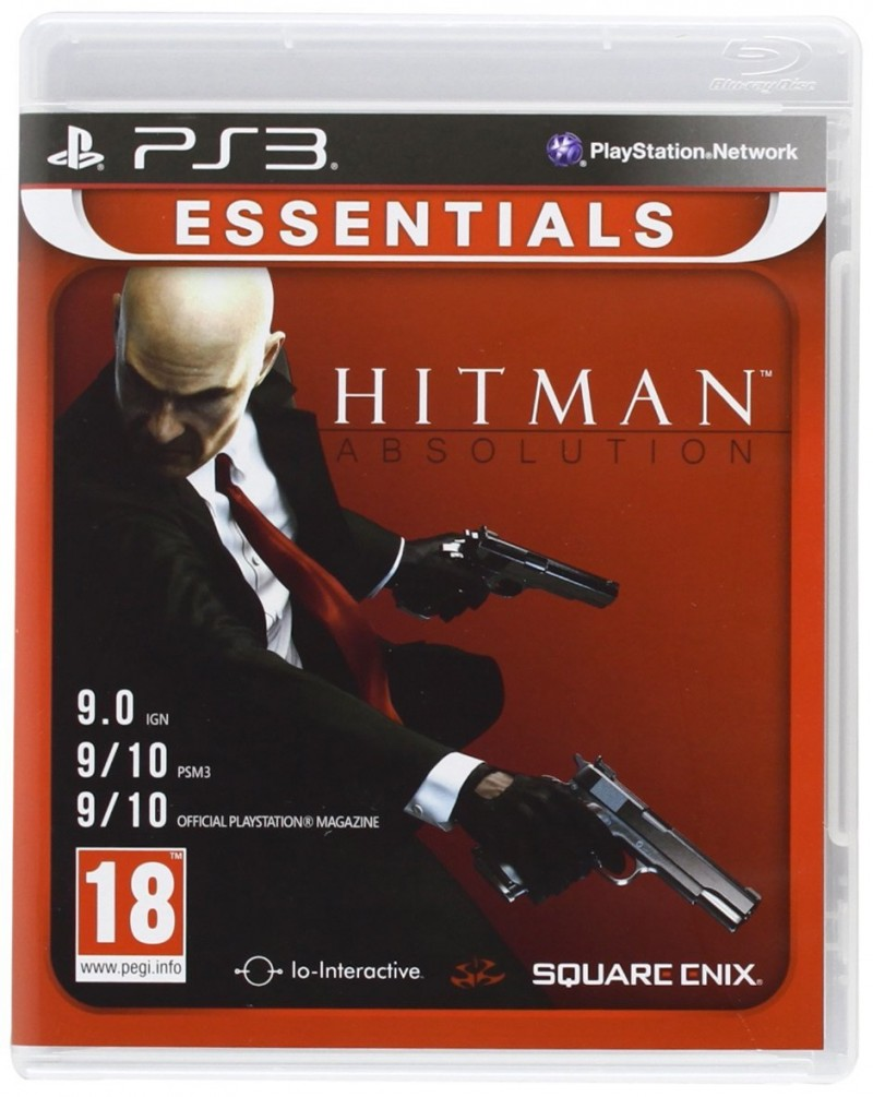 PS3 Hitman Absolution Essentials