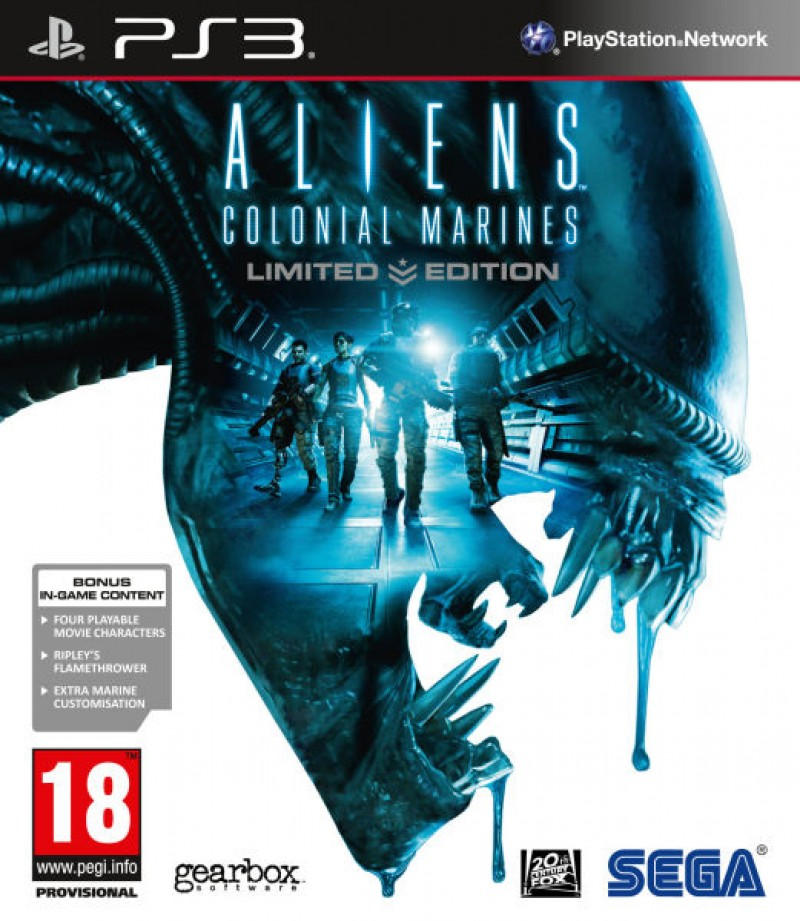 PS3 Aliens Colonial Marines Limited Edition