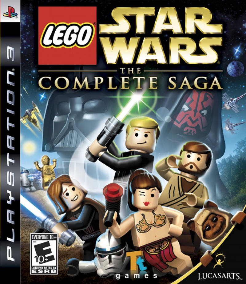 PS3 Lego Star Wars The Complete Saga Essentials