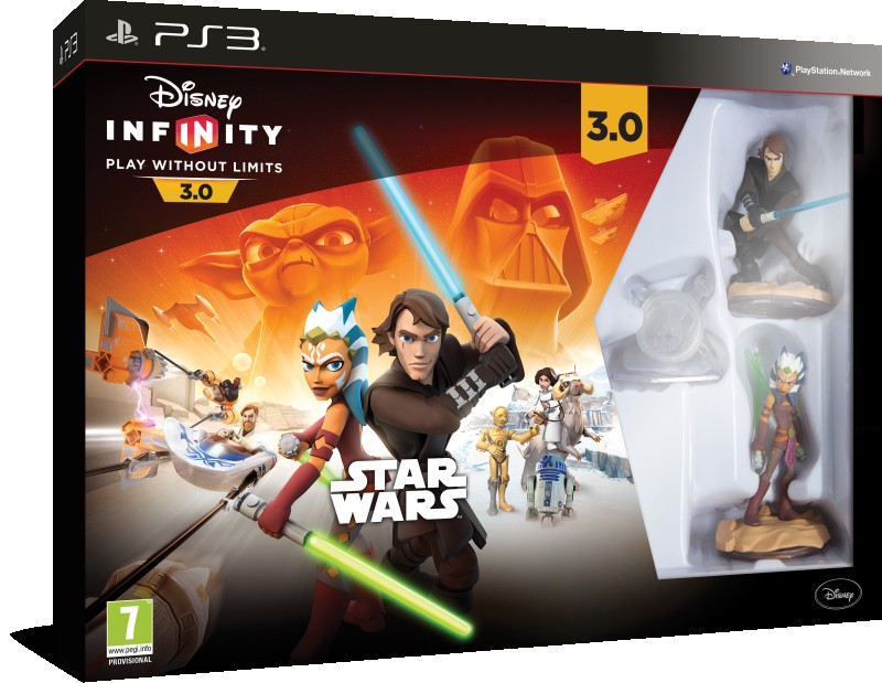 Disney Interactive PS3 Infinity 3.0 Star Wars Starter Pack