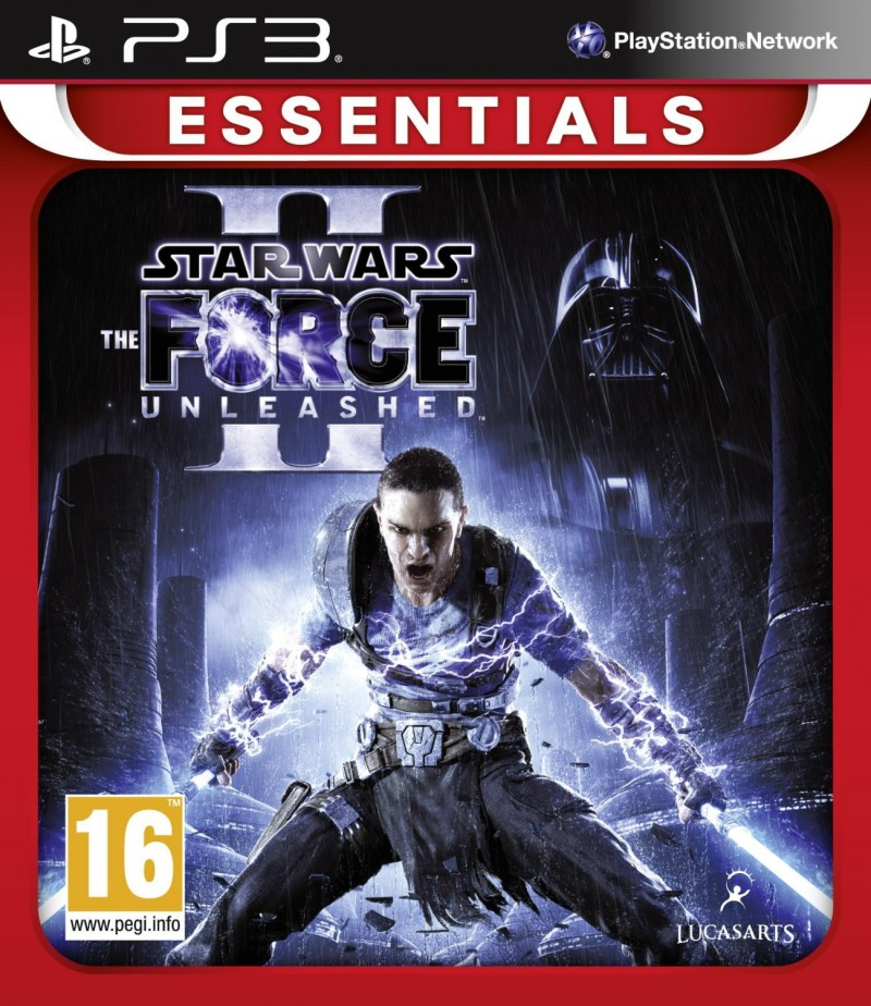 PS3 Star Wars The Force Unleashed II Essentials