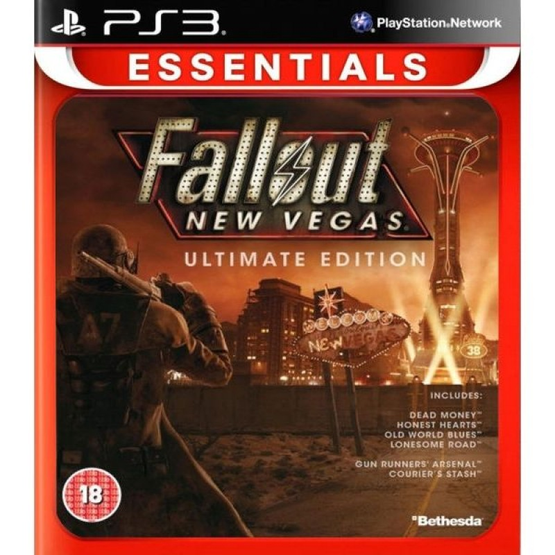 PS3 Fallout: New Vegas Ultimate Edition Essentials