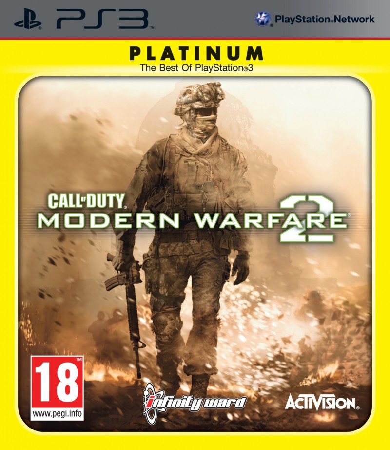 Activision Blizzard PS3 Call of Duty Modern Warfare 2 Platinum