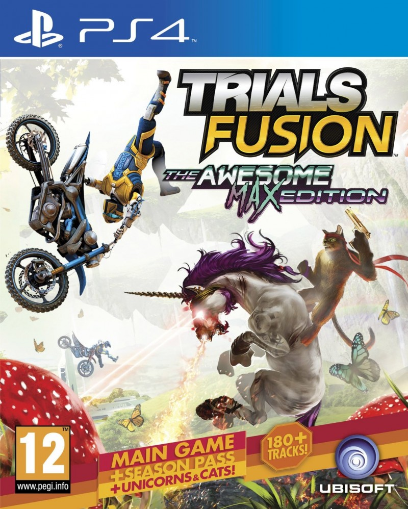 Ubisoft Entertainment PS4 Trials Fusion The Awesome Max Edition