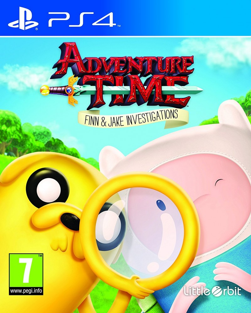 PS4 Adventure Time: Finn & Jake Investigations