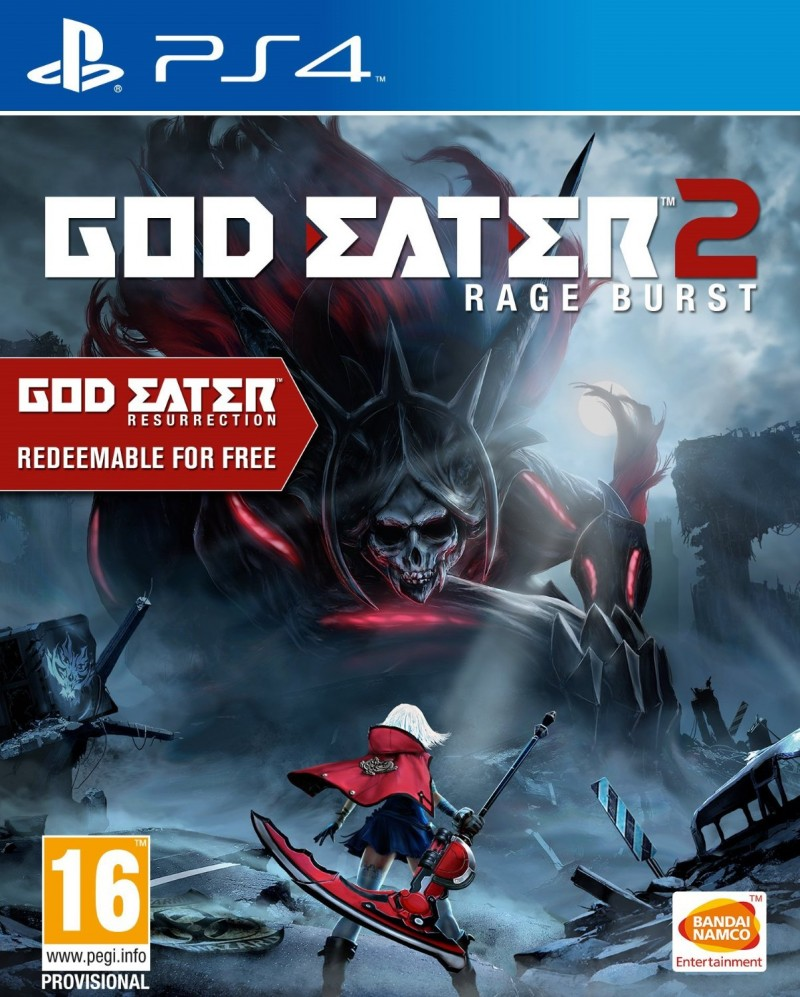 Namco Bandai PS4 God Eater Resurrection / God Eater 2 : Rage Burst