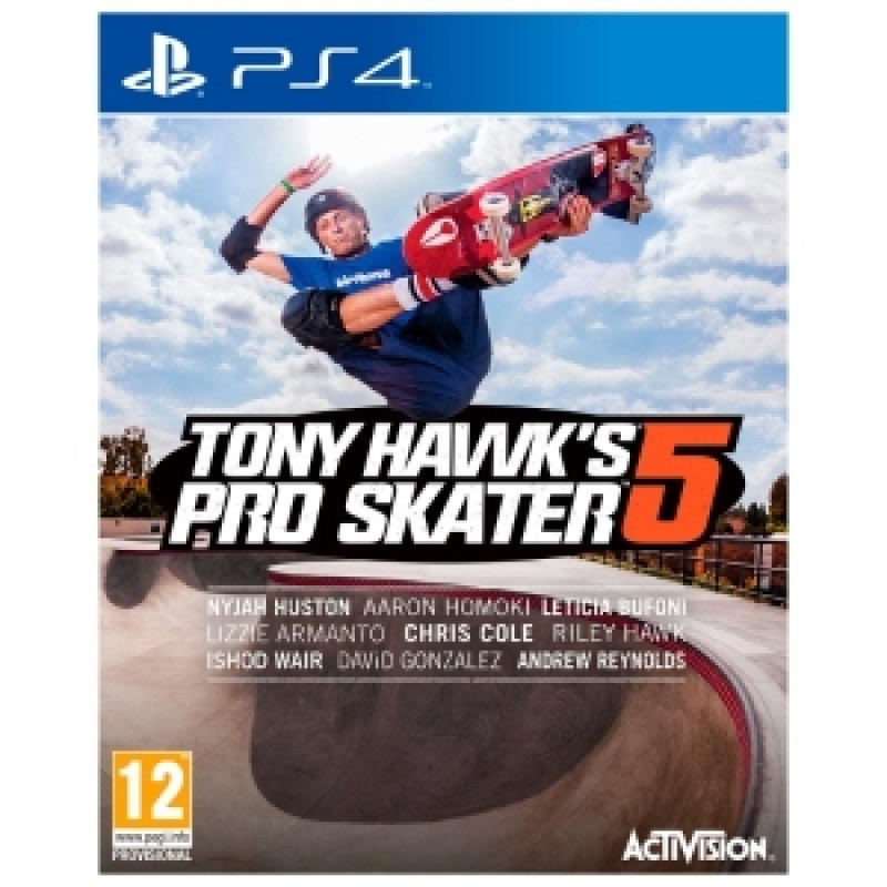 PS4 Tony Hawk World 2015