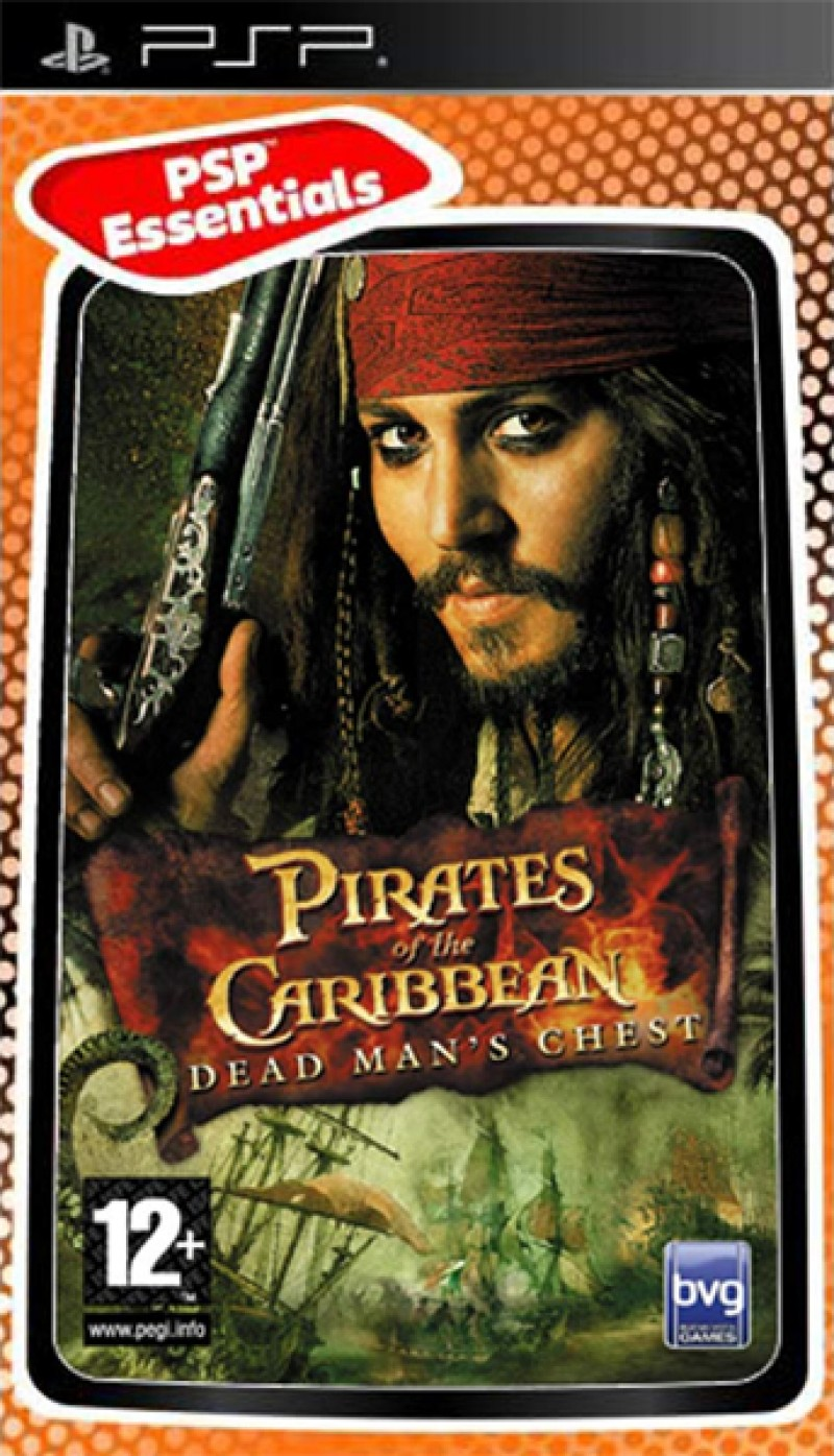 PSP Pirates of the Caribbean: Dead Man's Chest Essentials