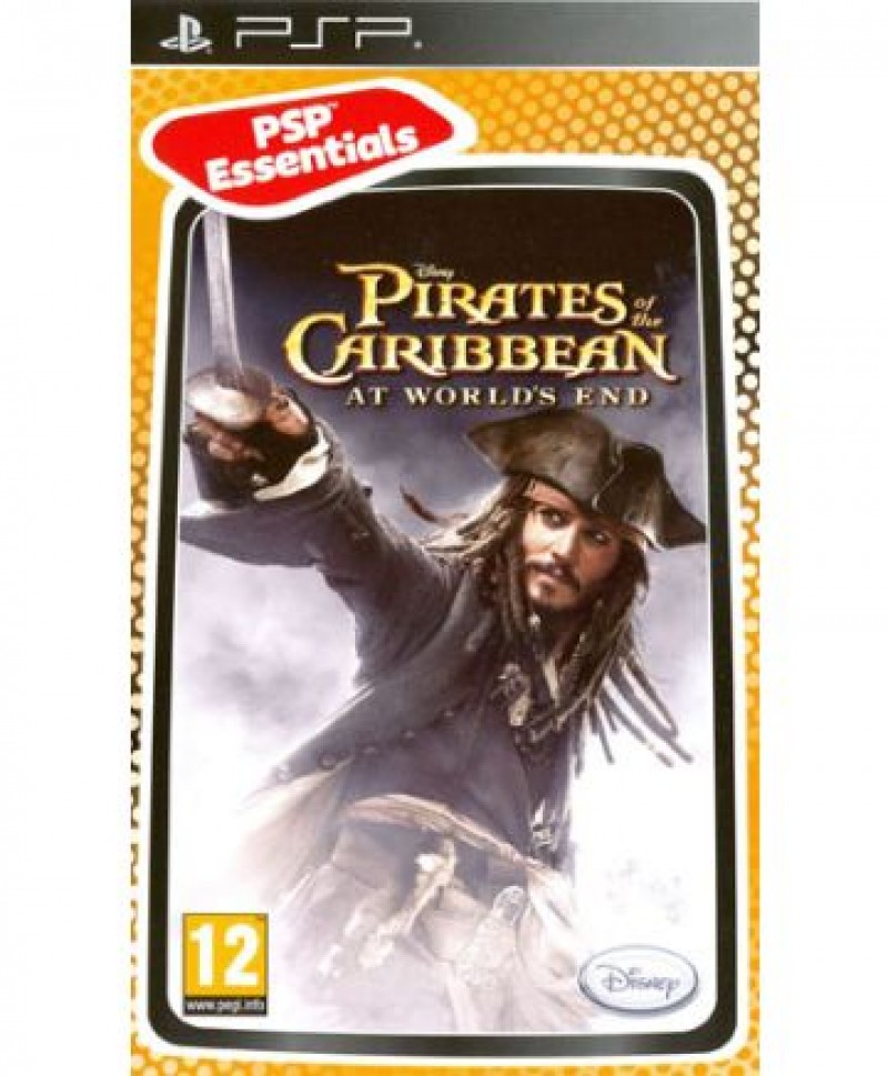 PSP Pirates of the Caribbean: At World's End Essentials