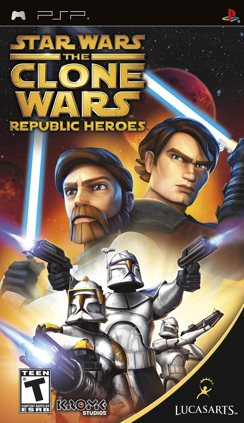 PSP Clone Wars Republic Heroes Essentials