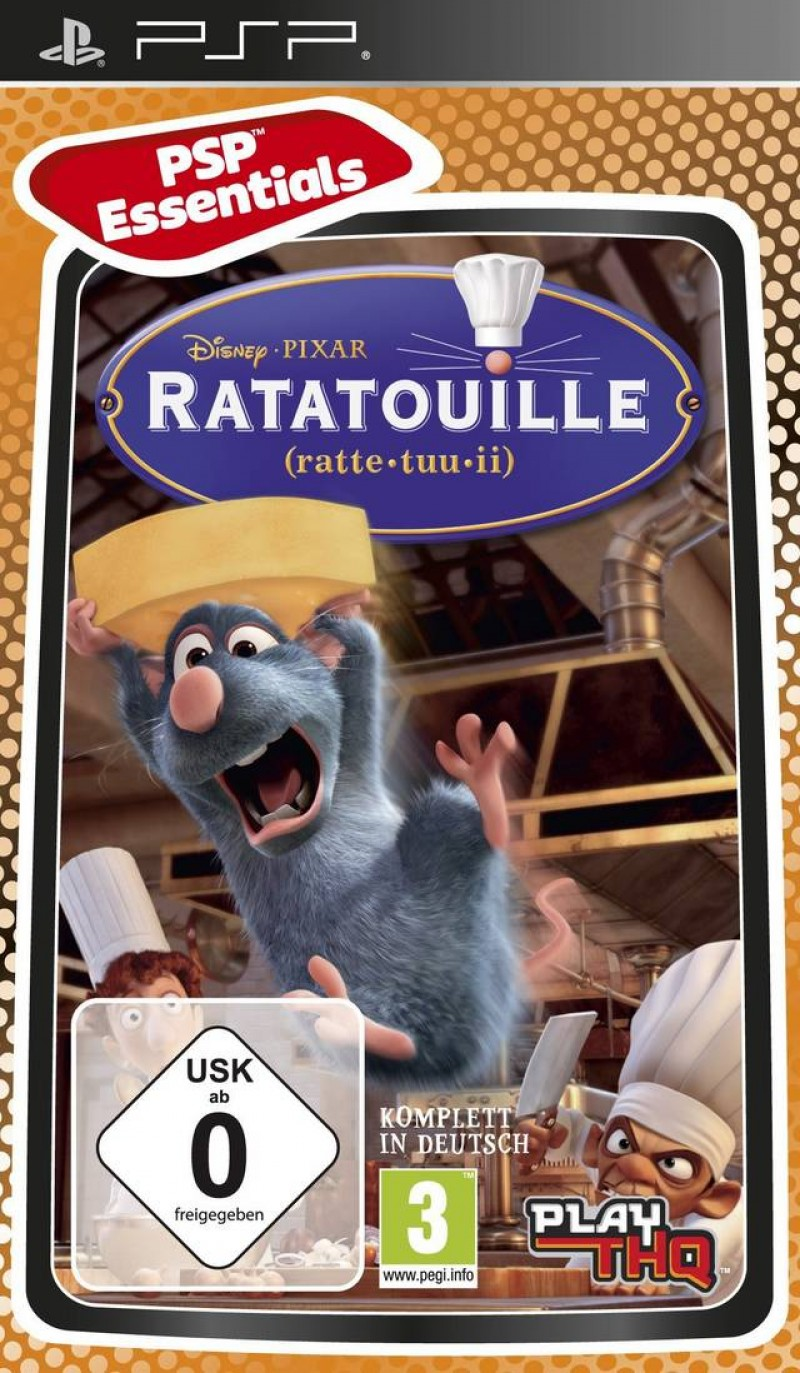 PSP Ratatouille Essentials