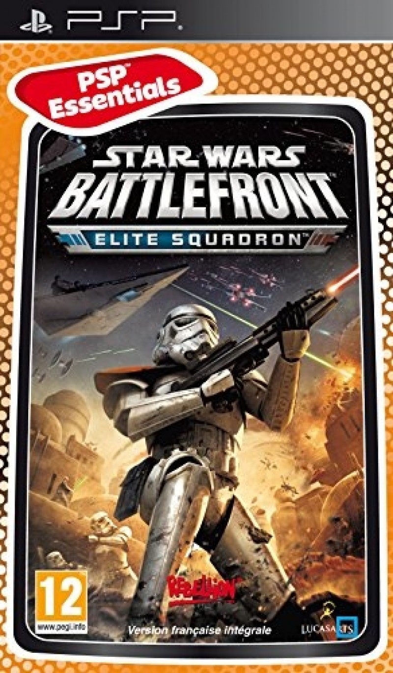 PSP Star Wars Battlefront Elite Squadron Essentials