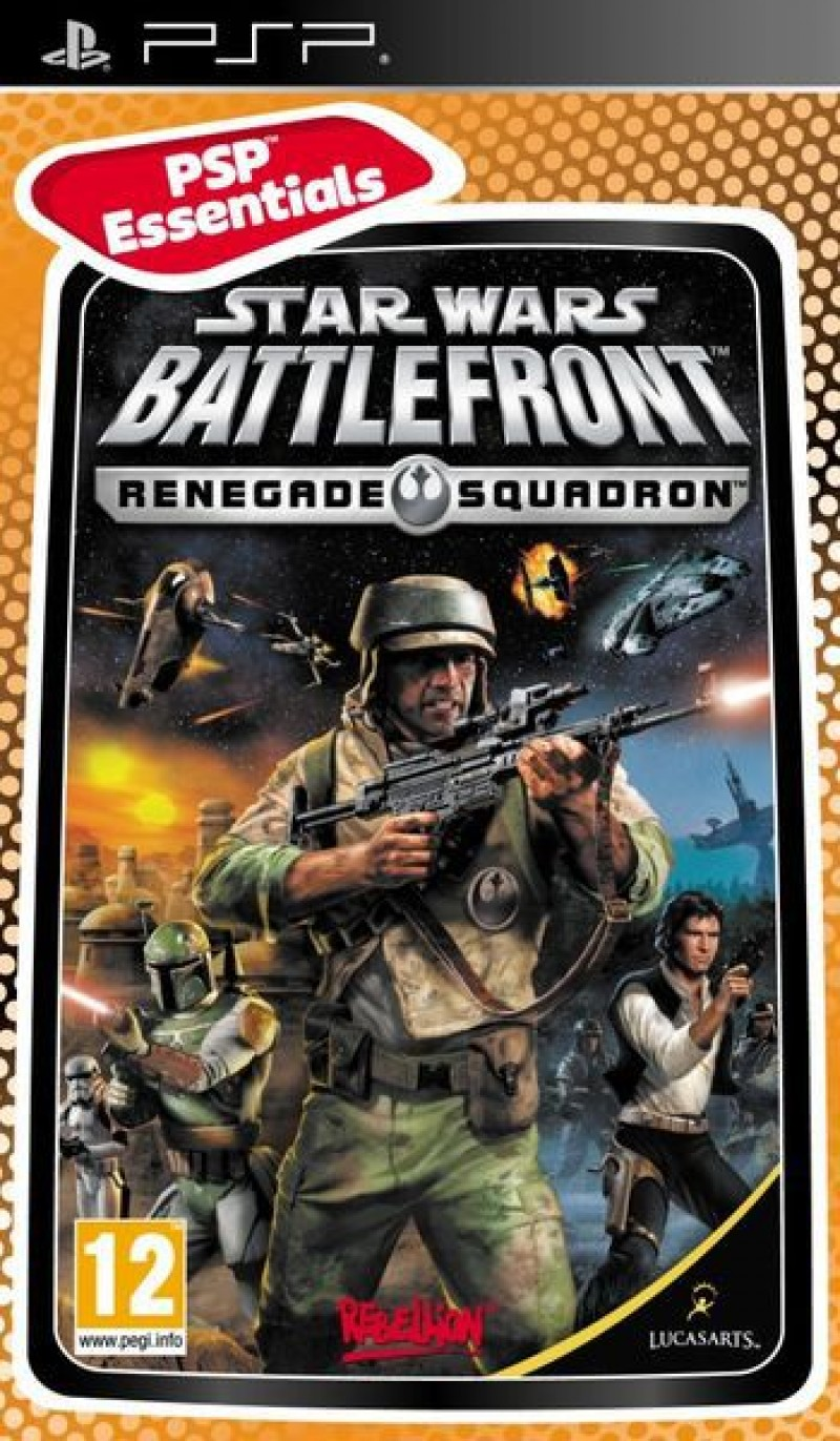 PSP Star Wars Battlefront: Renegade Squadron Essentials