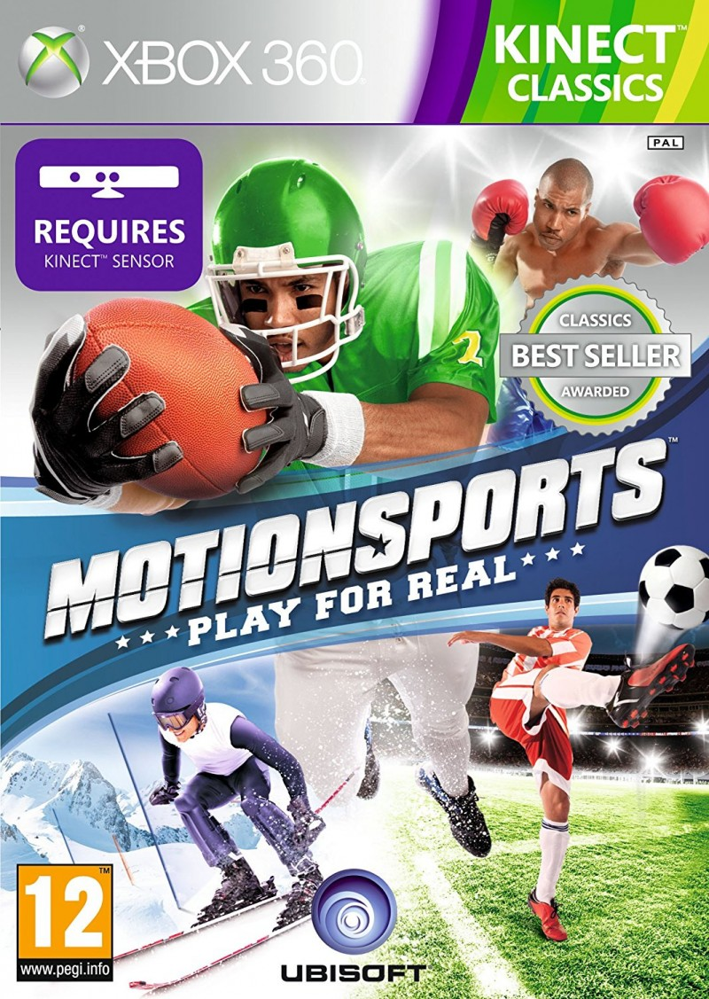 XBOX360 Motionsports Play For Real Classic