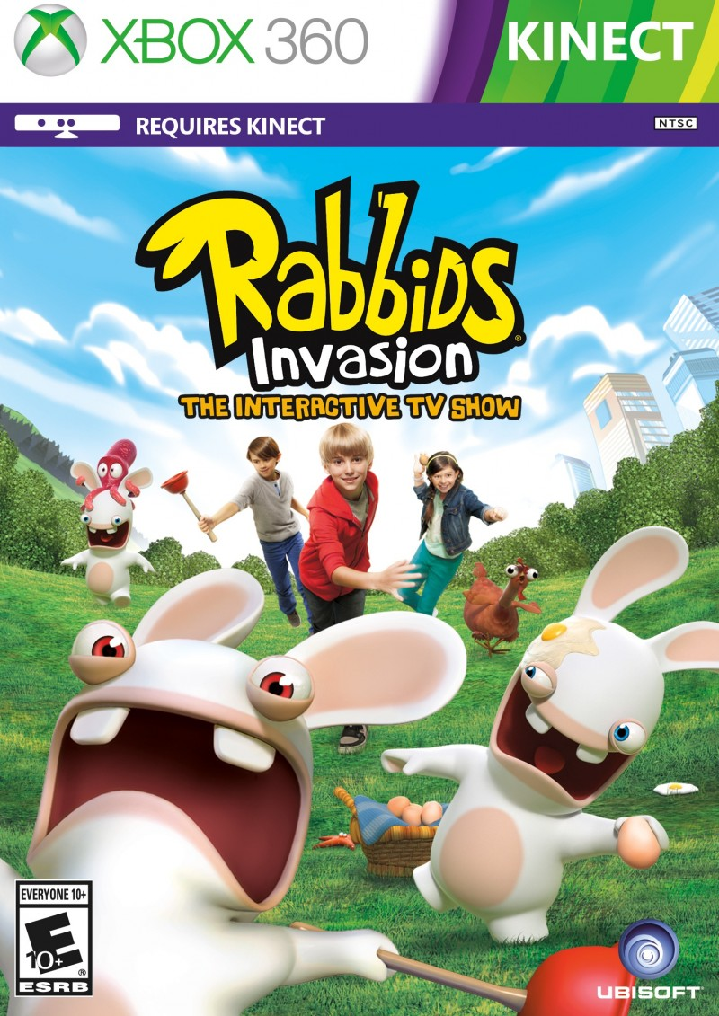 XBOX360 Rabbids Invasion