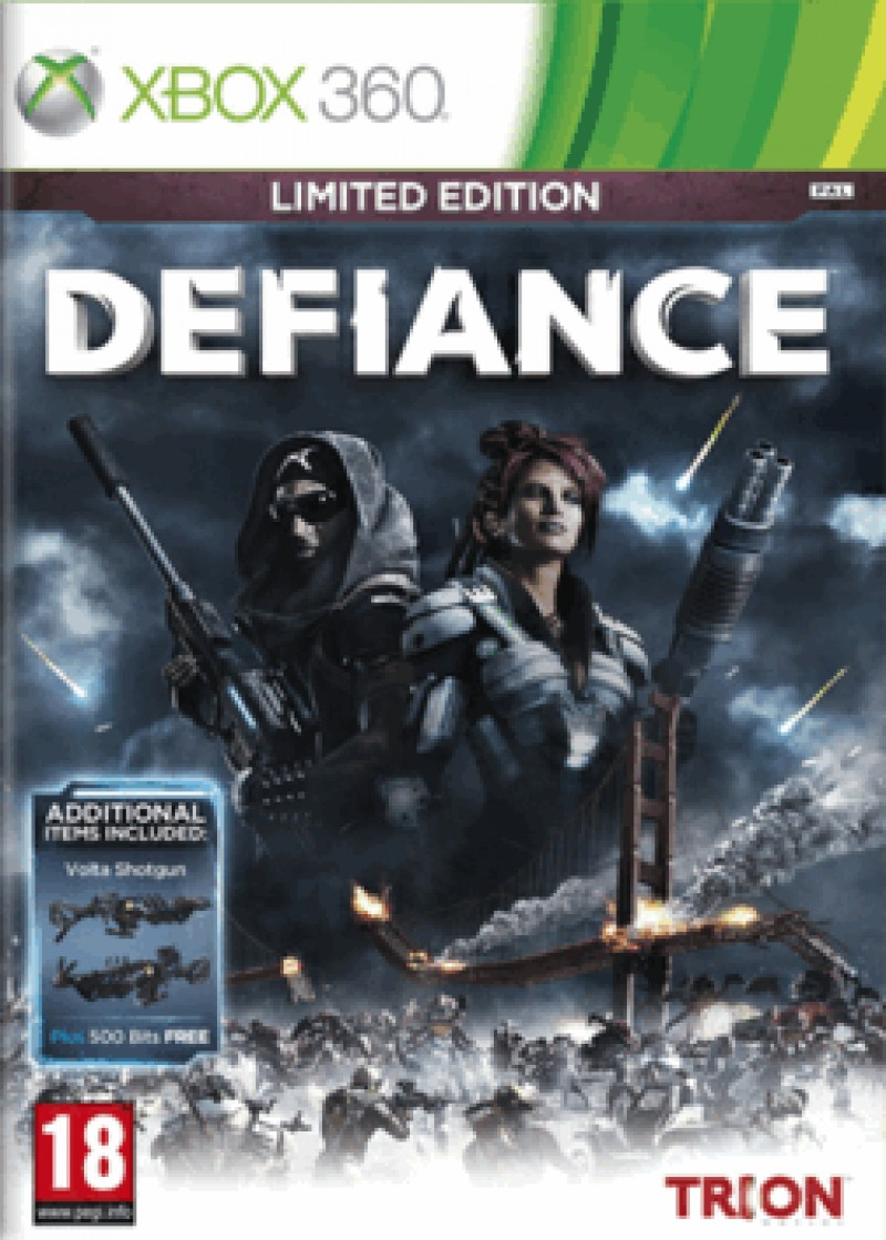 XBOX360 Defiance Limited Edition