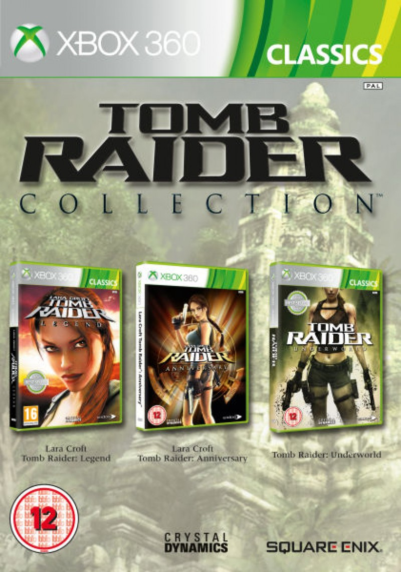 XBOX360 Tomb Raider Collection (Triple pack)
