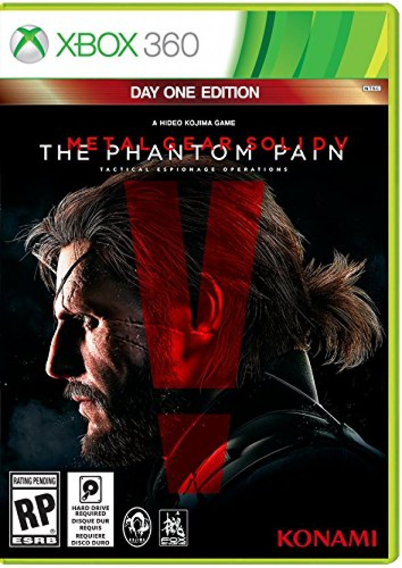 XBOX360 Metal Gear Solid V The Phantom Pain Day1