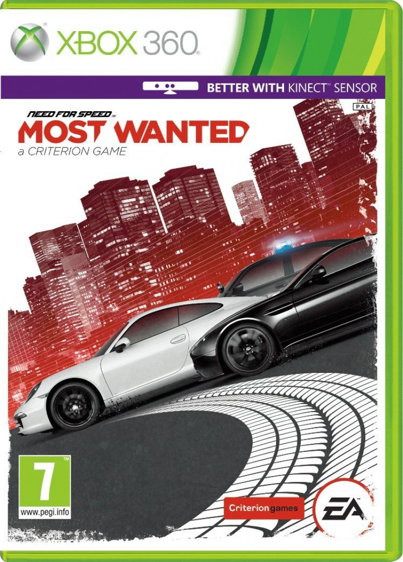 XBOX360 Need For Speed Most Wanted 2