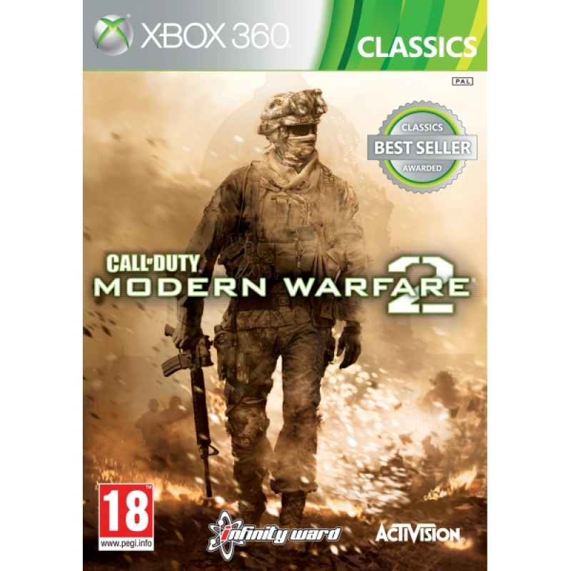 XBOX360 Call of Duty Modern Warfare 2 Classics