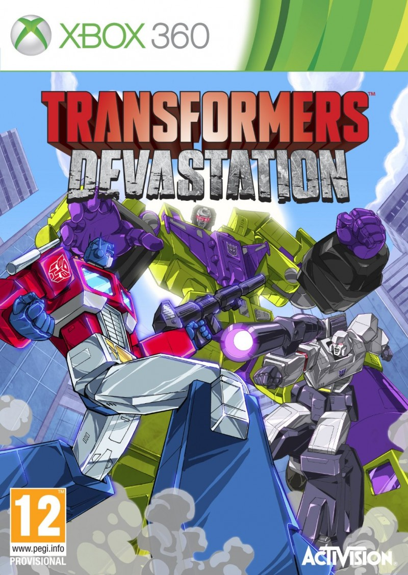 XBOX360 Transformers Devastation