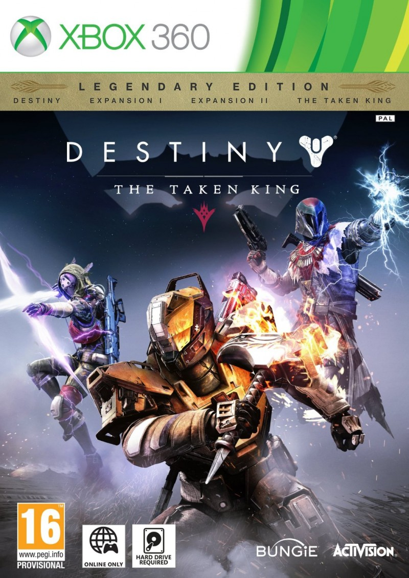XBOX360 Destiny The Taken King Legendary Edition