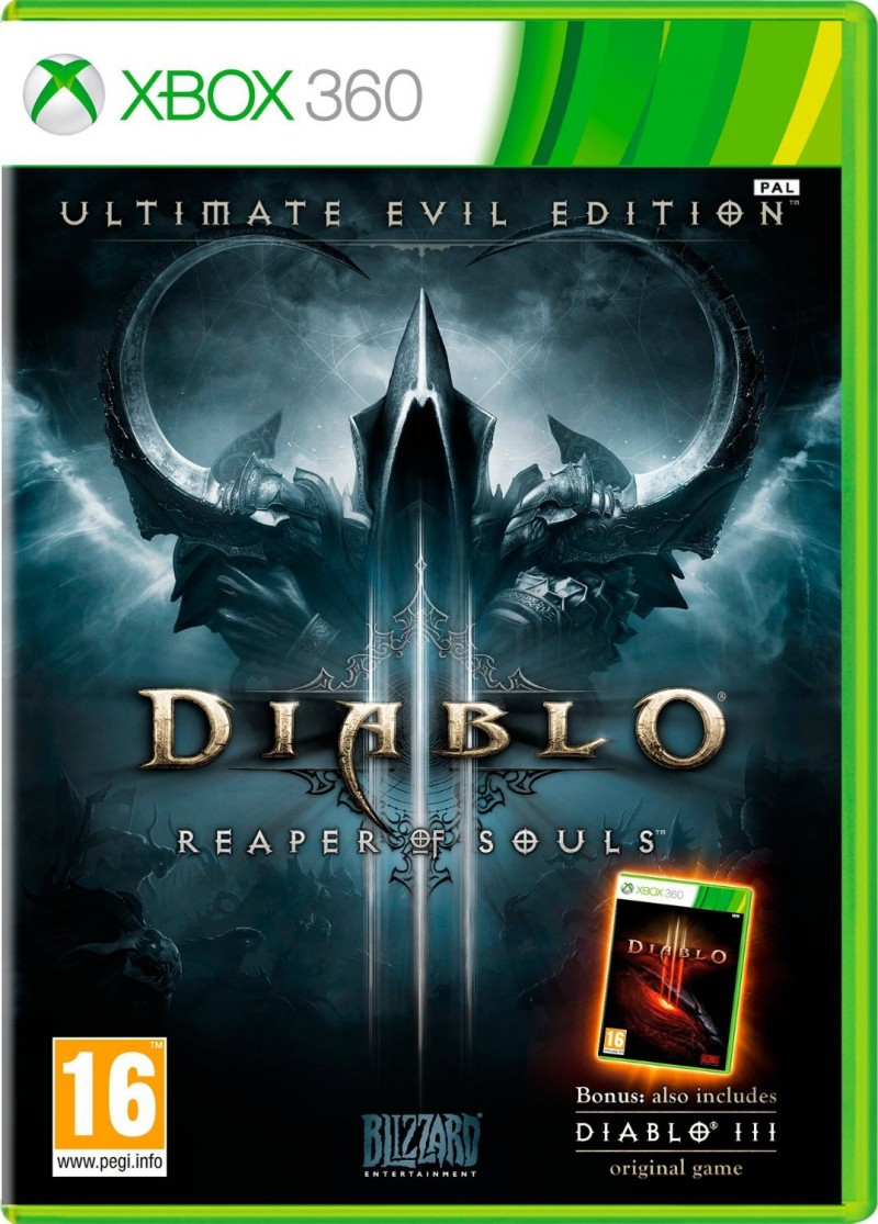XBOX360 Diablo 3 Ultimate Evil Edition (D3 + Reaper of Souls)