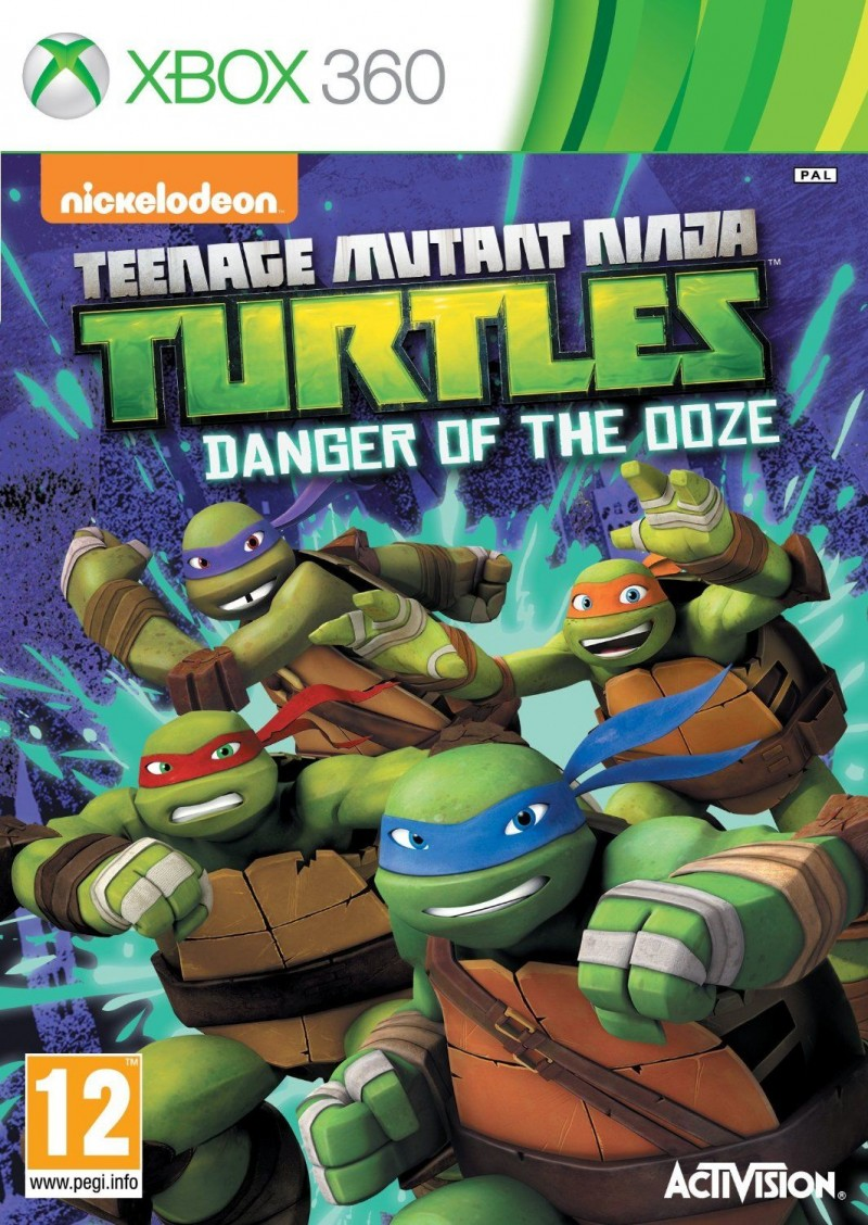 XBOX360 Teenage Mutant Ninja Turtles Danger Of The Ooze
