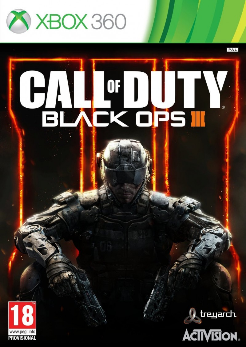 Activision Blizzard XBOX360 Call of Duty Black Ops 3