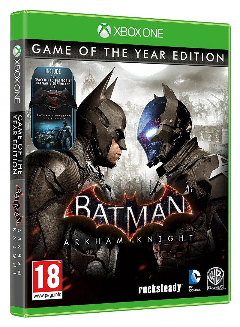 XBOXONE Batman Arkham Knight GOTY