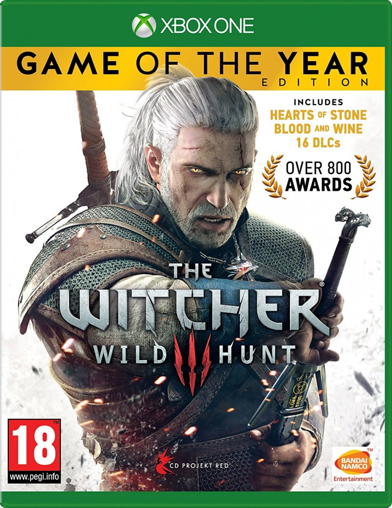 CD Project Red XBOXONE The Witcher 3 Wild Hunt GOTY
