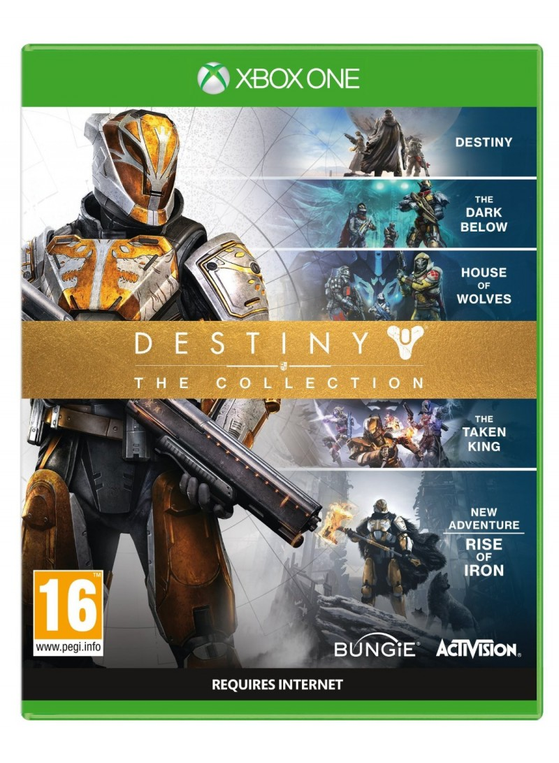 XBOXONE Destiny Rise of Iron Complete Collection (Destiny + The Taken King + Rise Of Iron)
