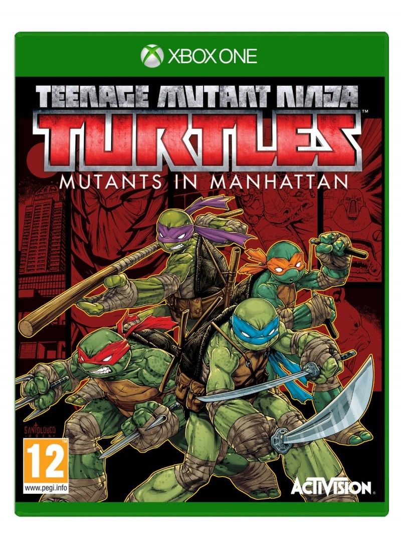 XBOXONE Teenage Mutant Ninja Turtles: Mutants in Manhattan