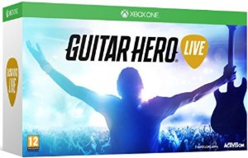 XBOXONE Guitar Hero Live Bundle (game + guitar)