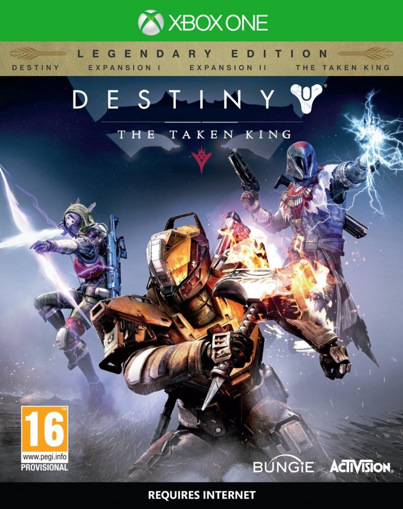 XBOXONE Destiny The Taken King Legendary Edition