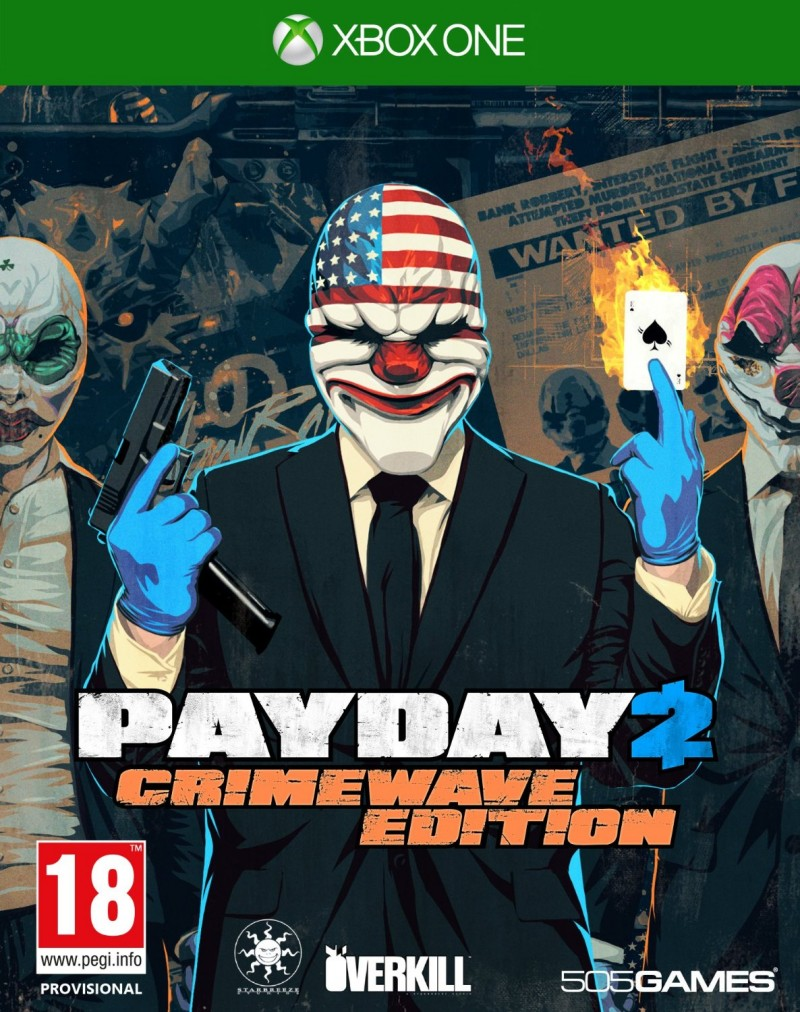 XBOXONE Payday 2 CrimeWave