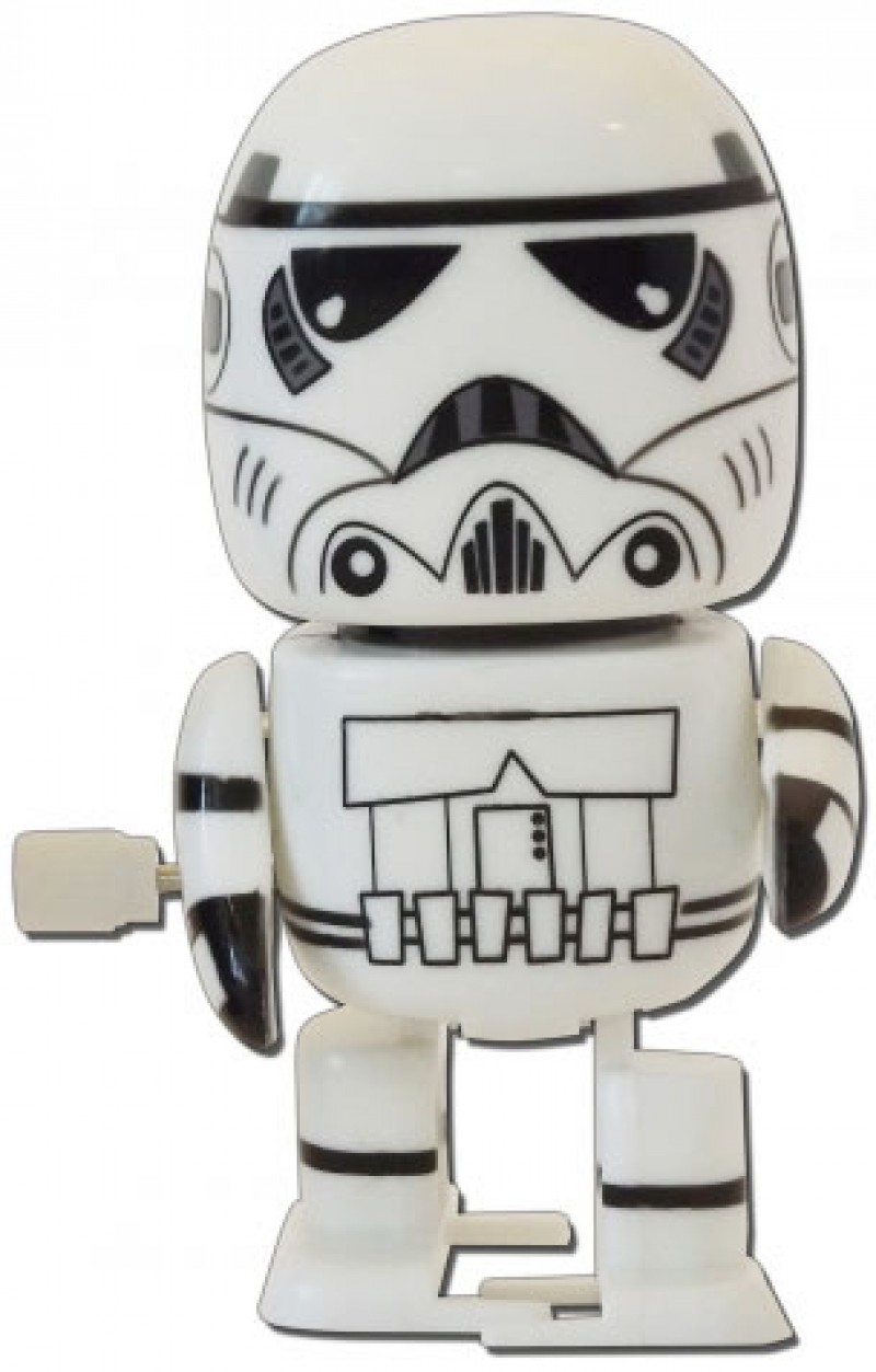 Star Wars Wind-up Walking Wobbler Storm Trooper