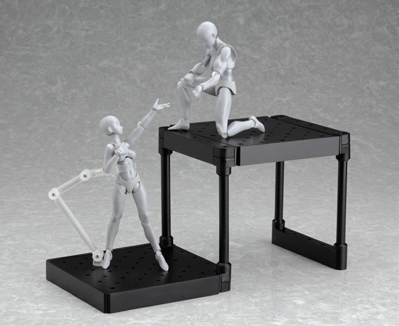 Figma Di:stage Expansion Set 01 Layer Unit Black version