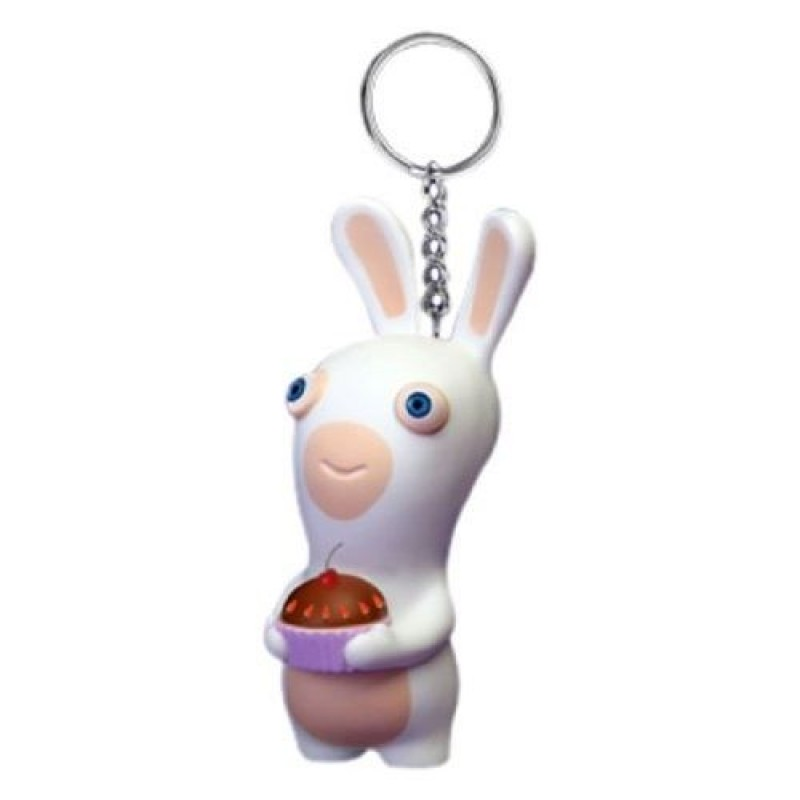 Raving Rabbids Birthday Squeezee anti-stress Keychain