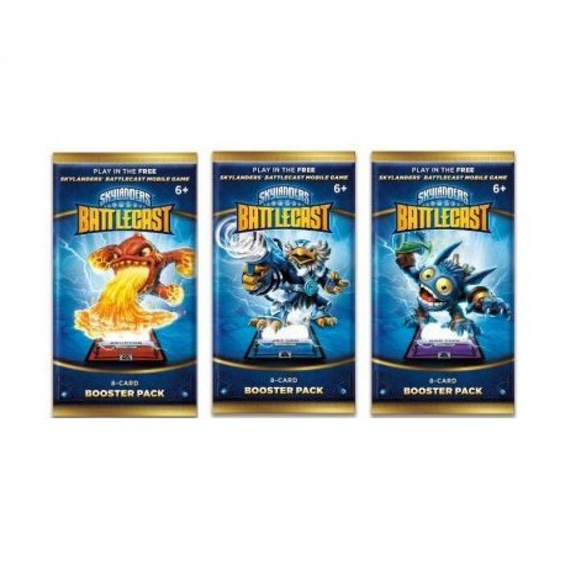 Skylanders Battlecast Booster Pack Foil - 8 cards